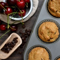 Cherry Chocolate Chip Muffins